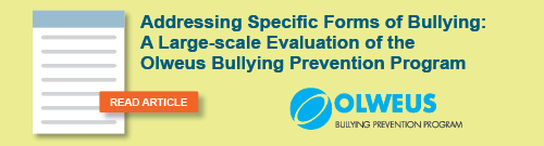 Addressing Specific Forms of Bullying